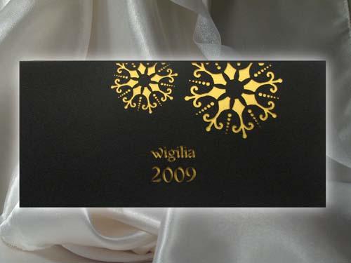 Zaproszenie Wigilijne K003 Kartki świąteczne Dla Firm Na Boże