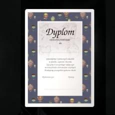 Dyplom Ukończenia Przedszkola | Balony 2